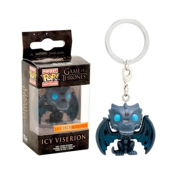 Llavero Pocket POP Juego de Tronos Icy Viserion Exclusive