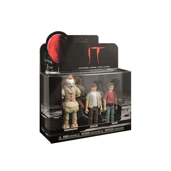 Set figuras Action It 2017 Pennywise Richie Eddie
