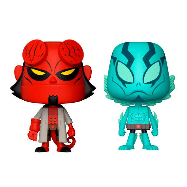 Figuras Vynl Hellboy amp Abe Sapien