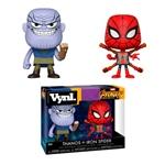 Figuras Vynl Avengers Infinity War Thanos & Iron Spider