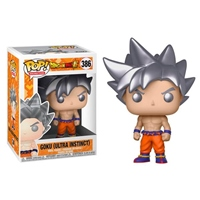 Funko POP Goku Dragon Ball Z Ultra Instinct Form
