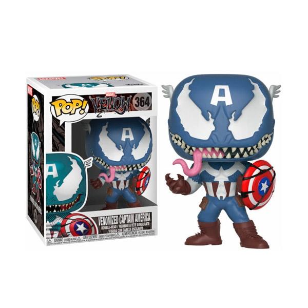 Figura POP Marvel Venom Venomized Capitan America