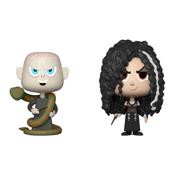 Figuras Vynl Harry Potter Bellatrix & Voldemort