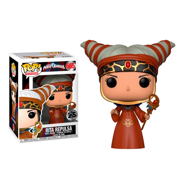 Figura POP Power Rangers Rita Repulsa