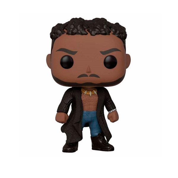 Figura POP Marvel Black Panther Killmonger with Scars