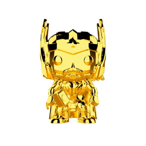 Figura POP Marvel Studios 10 Thor Gold Chrome