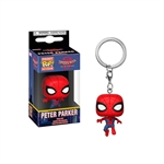 Llavero Pocket POP Marvel Animated Spiderman Peter Parker