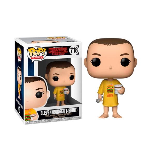Figura POP Stranger Things Eleven in Burger Tee