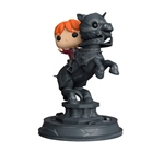 Figura Movie Moments Harry Potter Ron riding chess piece