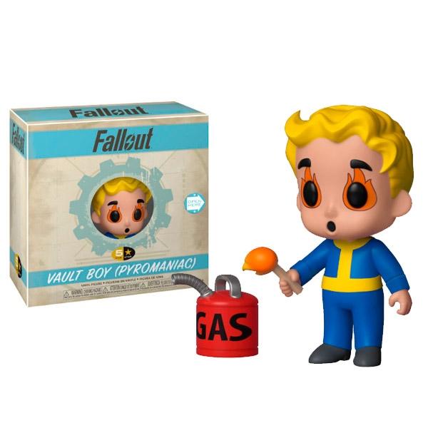 Funko 5 Star Fallout Vault Boy Pyromaniac series 2