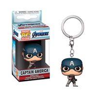 Llavero Pocket POP Marvel Avengers Endgame Capitán América