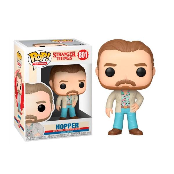Figura POP Stranger Things 3 Hopper Date Night