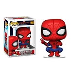 Funko POP Marvel Spiderman Far From Home Spiderman Hero Suit