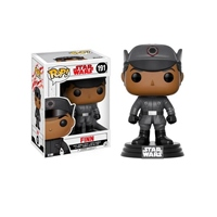 Figura Bobble POP Star Wars Episode VIII The Last Jedi Finn