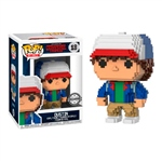 Figura POP 8 Bit Stranger Things Dustin Exclusive