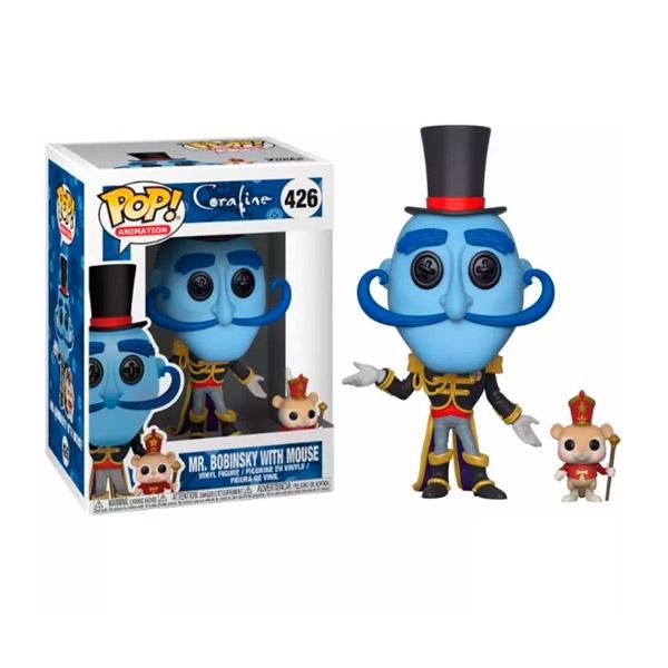 Figura POP Coraline Mr Bobinsky with Mouse