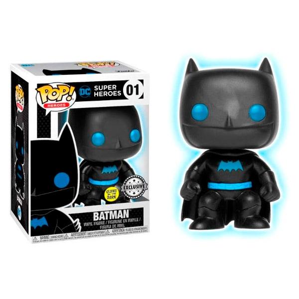 Figura POP DC Comics Justice League Batman Silhouette Excl