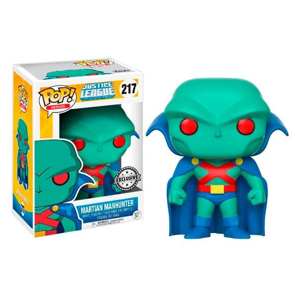 Figura POP DC Comics Justice League Martian Manhunter Excl.
