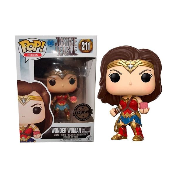 Figura POP DC Justice League Wonder Woman Exclusive