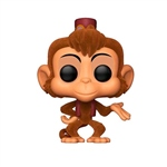 Figura POP Disney Aladdin Abu Flocked Exclusive
