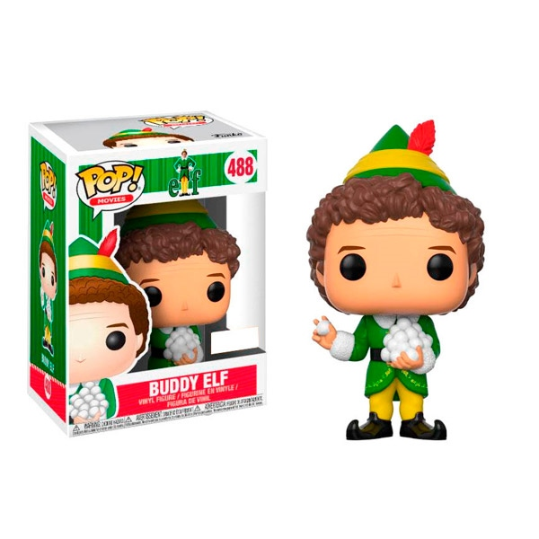 Figura POP Elf Buddy with Snowballs Exclusive