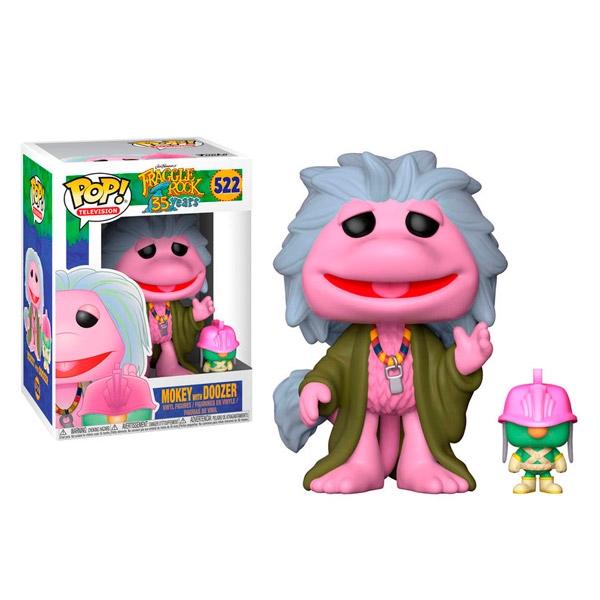 Figura POP Fraggle Rock Mokey with Doozer