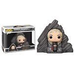 Figura POP Game of Thrones Daenerys on Dragonstone Throne