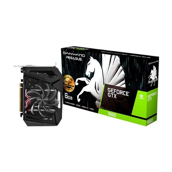 Gainward GeForce GTX 1660 Pegasus OC 6GB - Tarjeta Gráfica