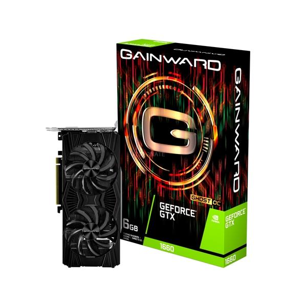 Gainward GeForce GTX 1660 Ghost OC 6GB  Tarjeta Gráfica