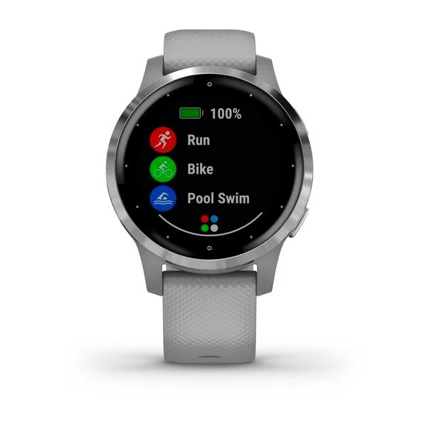 Garmin Vivoactive 4S GrisPlata  Smartwatch