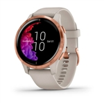 Garmin Venu Beige  Oro Rosa   Smartwatch