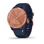 Garmin Vívomove 3S Oro Rosa  Azul  Smartwatch