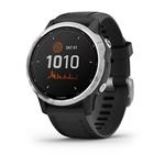 Garmin Fnix 6S Solar Plata  Negro Smartwatch