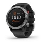 Garmin Fénix 6 Solar Plata  Negro  Smartwatch