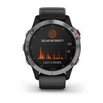 Garmin Fnix 6 Solar Plata Negro Smartwatch