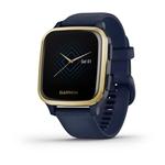 Garmin Venu Sq Music Edition Light Gold Azul    Smartwatch