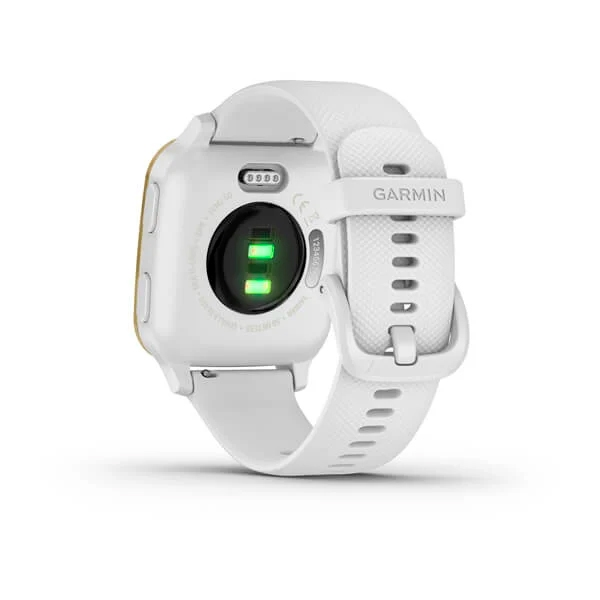 Garmin Venu Sq Light Gold Blanco  Smartwatch