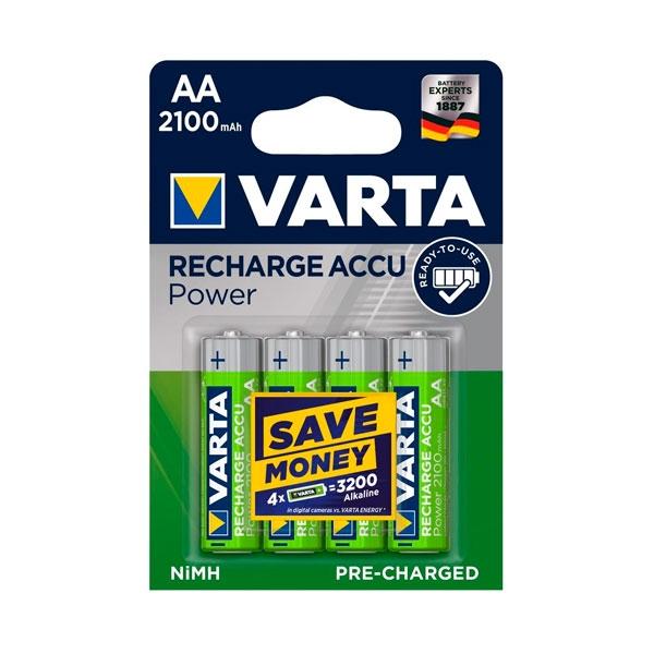 Varta Professional 4 X AAA NiMH 1000 mAh  Pilas recargables