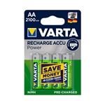 Varta Professional 4 X AAA NiMH 1000 mAh - Pilas recargables