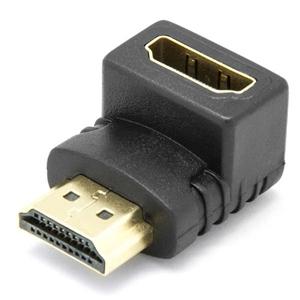 Conector Acodado HDMI Macho Hembra