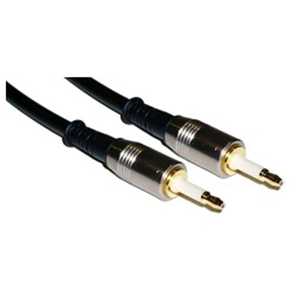 TL03 Cable Mini Toslink Digital Optical Audio MTMT 2mts