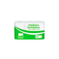 Higicel Paquete de 12 rollos de papel higiénico doble capa