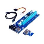 Riser Card RS006 PCIe 1x16 USB31 Molex  Adaptador PCIE