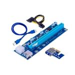Riser Card RS006C PCIe 1x16 USB30  Adaptador PCIE