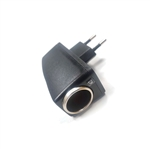 Adaptador conversor de mechero coche 12v a enchufe 220v * Reacondicionado *