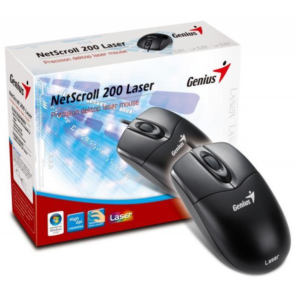 Genius NetScroll 200 Laser - Ratón