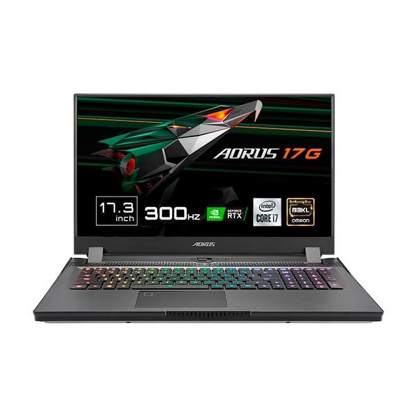 Gigabyte Aorus 17G XC8ES6430SH  i710870H 32GB RTX3070 SSD 512GB  Portátil