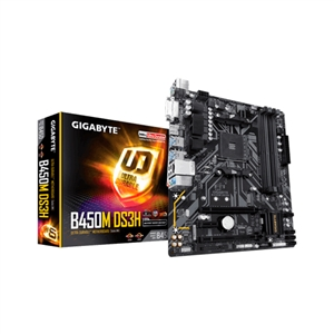 Gigabyte B450MDS3H V2 AM4  Placa Base