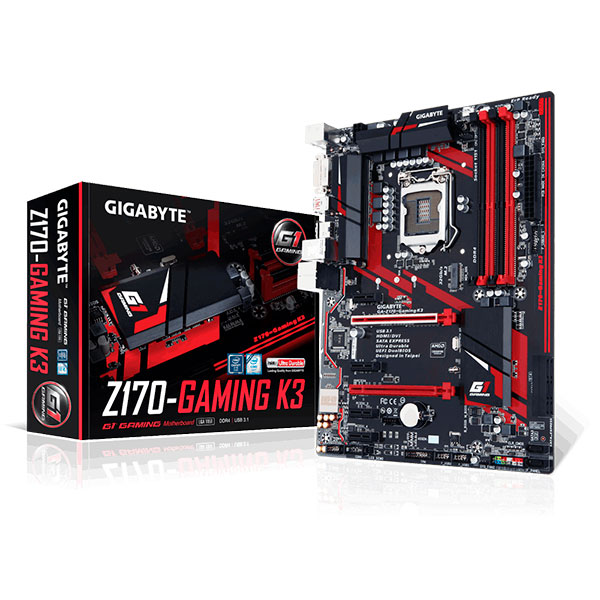 Gigabyte Z170 Gaming K3 – Placa Base