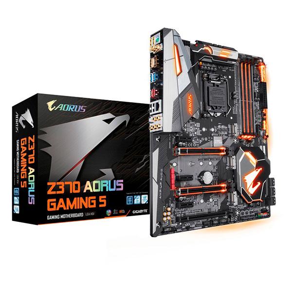 Gigabyte Aorus Z370 Gaming 5 – Placa Base